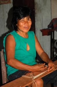 Bora artisan Marcelina Chichaco from Brillo Nuevo. Photo by Campbell Plowden/CACE