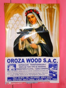 Poster for Oroza Wood. Photo by Campbell Plowden/CACE