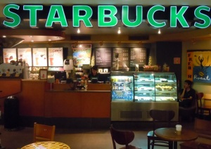 Starbucks at Lima aiport 1
