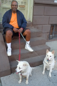 Darryl and the dogs