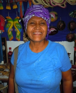 "Laida Tuanama, ""La Hermanita,"" artisan from Iquitos, Peru. Photo by C. Plowden/CACE"