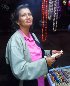 Luisa Paredes, artisan from Iquitos, Peru. Photo by C. Plowden/CACE