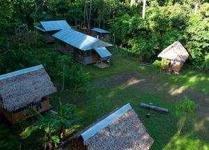 Project Amazonas field station in the Santa Cruz Forest Reserve. © Photo by Project Amazonas