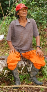 Manuel Mibeco curaca. Photo by Campbell Plowden/Center for Amazon Community Ecology