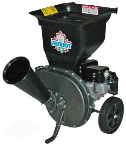 Patriot 6.5 hp shredder. Photo by Patriot Products.